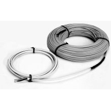 Snow Melting Cable, 330'L, 16.4' cold lead, 12 W/ft, twin-conductor heating cable, 16.7 Amps, 240V, 4000W. Covers 85-135 Sq Ft of heated area