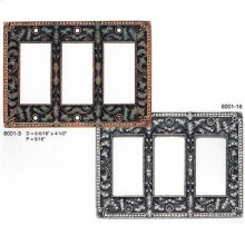 Triple Gfi Switch Cover Clear Crystal