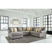 LAF Chaise 3 Pc Sectional