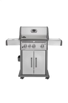 Rogue 425 with Infrared Side Burner in Stainless Steel