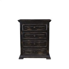 Charleston Black Nightstand