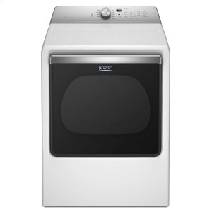 8.8 cu. ft. Extra-Large Capacity Gas Dryer with Advanced Moisture Sensing White -