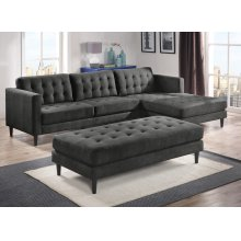Liam Charcoal Sectional
