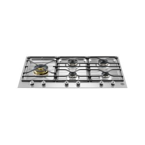 Bertazzoni36 Segmented cooktop 5-burner Stainless Steel