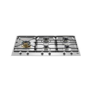 Bertazzoni36 Segmented cooktop 5-burner Stainless Steel