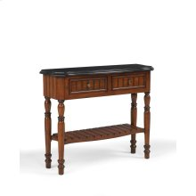 Louvered Plank Console