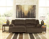 Toletta 2 Seat Reclining Power Sofa - Chocolate Collection Product Image