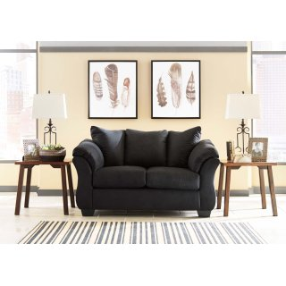Darcy Loveseat Black