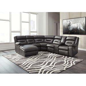 Ashley Furniture Coahoma - Dark Gray 7 Piece Sectional