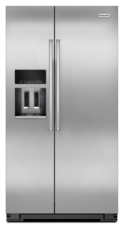 Krsc500ess Kitchenaid 20 Cu Ft Counter Depth Side By