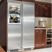 "24"" 2 Temp. Zone Wine Cabinet & Freezer Unit Stainless Steel Finish"