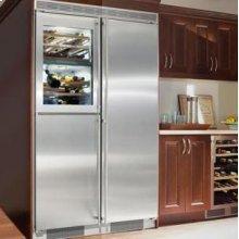 "24"" 2 Temp. Zone Wine Cabinet & Freezer Unit Stainless Steel Finish"