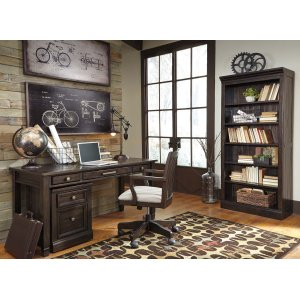 AshleySIGNATURE DESIGN BY ASHLEYTownser - Grayish Brown 2 Piece Home Office Set