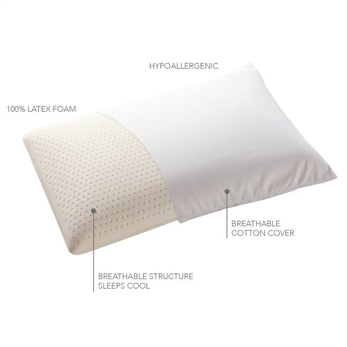 Sleep Plush Latex Foam Pillow, King
