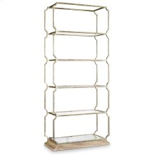 Home Office Melange Carter Metal Etagere