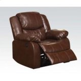 Brown Recliner W/power Motion Product Image