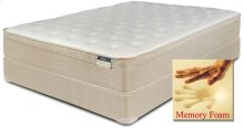 "Comfortec - Carlton - Memory Foam - 12"" Euro Box Top - Queen"