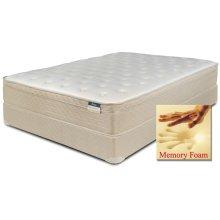 "Comfortec - Carlton - Memory Foam - 12"" Euro Box Top - Queen"