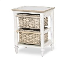 2-Basket Storage Cabinet