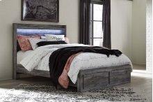 Baystorm - Gray 4 Piece Bed Set (Queen)