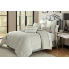 9 Pc Queen Comforter Set Gray Product Image