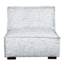 Element Armless Chair Ivory/Blue