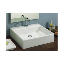 Box 50 Vessel Lavatory in White