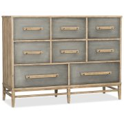 Bedroom Urban Elevation Eight-Drawer Bureau Product Image