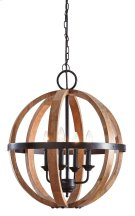 Wood Pendant Light (1/CN) Product Image