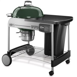 WeberPERFORMER(R) DELUXE CHARCOAL GRILL - 22 INCH GREEN