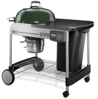 PERFORMER(R) DELUXE CHARCOAL GRILL - 22 INCH GREEN
