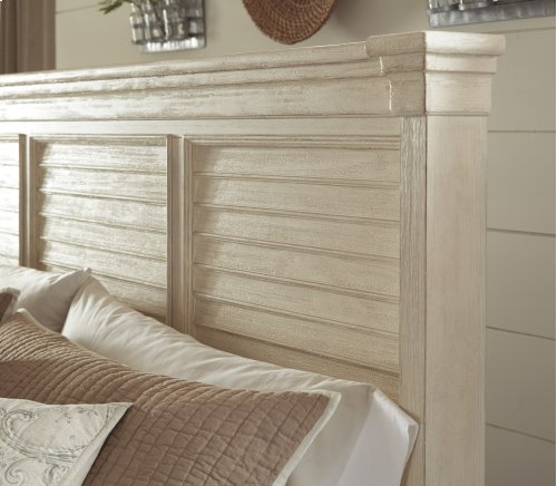 K/CK Louvered Headboard