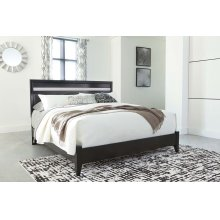 Starberry - Black 2 Piece Bed Set (King)