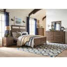 King Bed in Brindle Product Image
