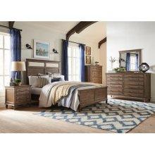 King Bed in Brindle