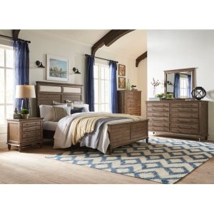 JOHN THOMAS FURNITUREKing Bed in Brindle