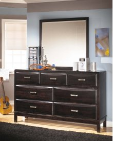 Kira - Almost Black 2 Piece Bedroom Set
