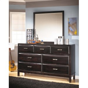Ashley Furniture Kira - Almost Black 2 Piece Bedroom Set