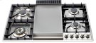 """Stainless Steel with 36"""" - Built -in Gas Cooktop, extended countertops Product Image"""