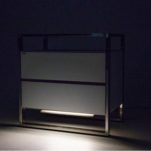 Nightstand W/led Lights