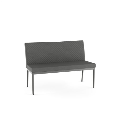 Monroe Bench With Quilted Fabric