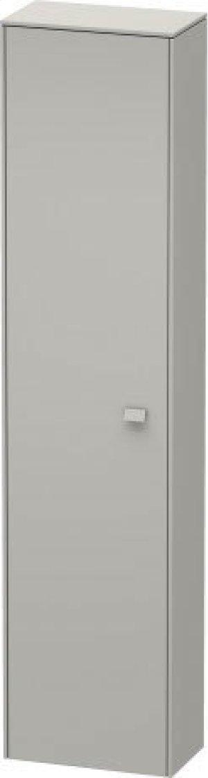 Tall Cabinet, Concrete Gray Matt Decor Product Image