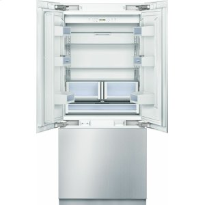 "Bosch BenchmarkBenchmark 36"" Built-in Custom Panel French Door Bottom Freezer"
