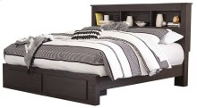 Reylow - Dark Brown 4 Piece Bed Set (King)