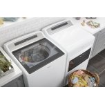 Whirlpool 7.4 Cu. Ft. Top Load Electric Dryer With Accudry Sensor Drying Technology