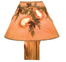 Large Lamp Shade - Agates and Foliage