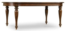 """Dining Room Leesburg Leg Table with Two 18"""" Leaves"""