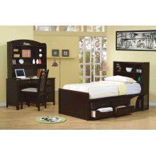 Phoenix Full Bookcase Bed