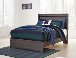 Annikus - Gray 3 Piece Bed Set (Full) Product Image
