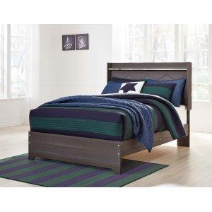Ashley Furniture Annikus - Gray 3 Piece Bed Set (Full)